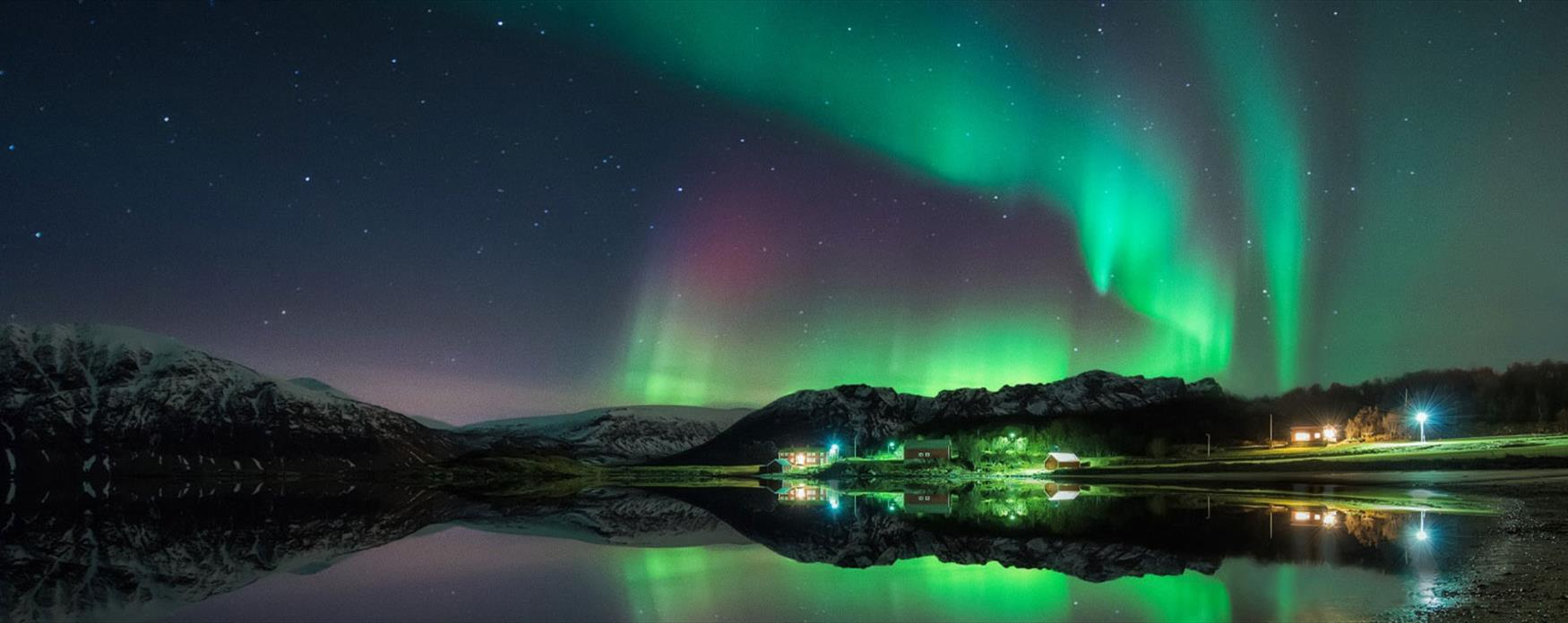 Northern Light in Elgsnes, Harstad.