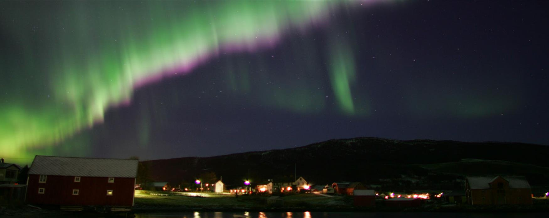Northern light in Harstad