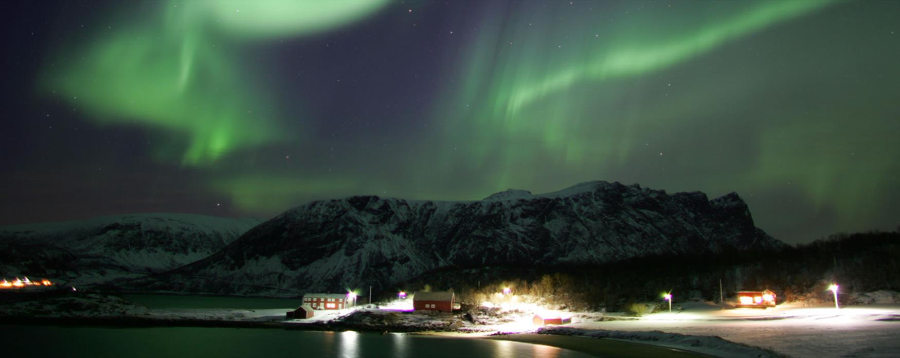 Northern lights in Harstad